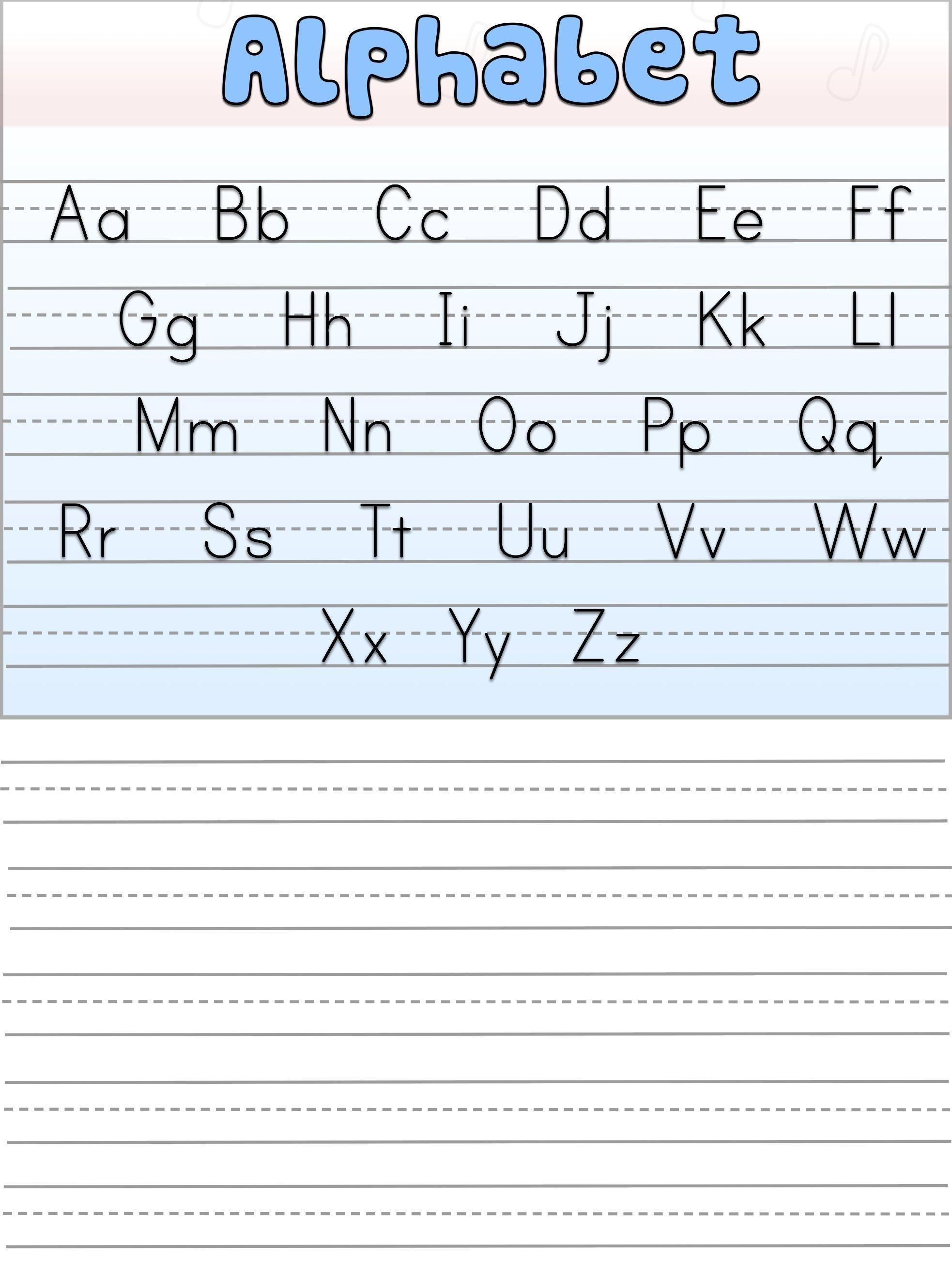 Free Uppercase Handwriting Worksheets Letter Worksheets