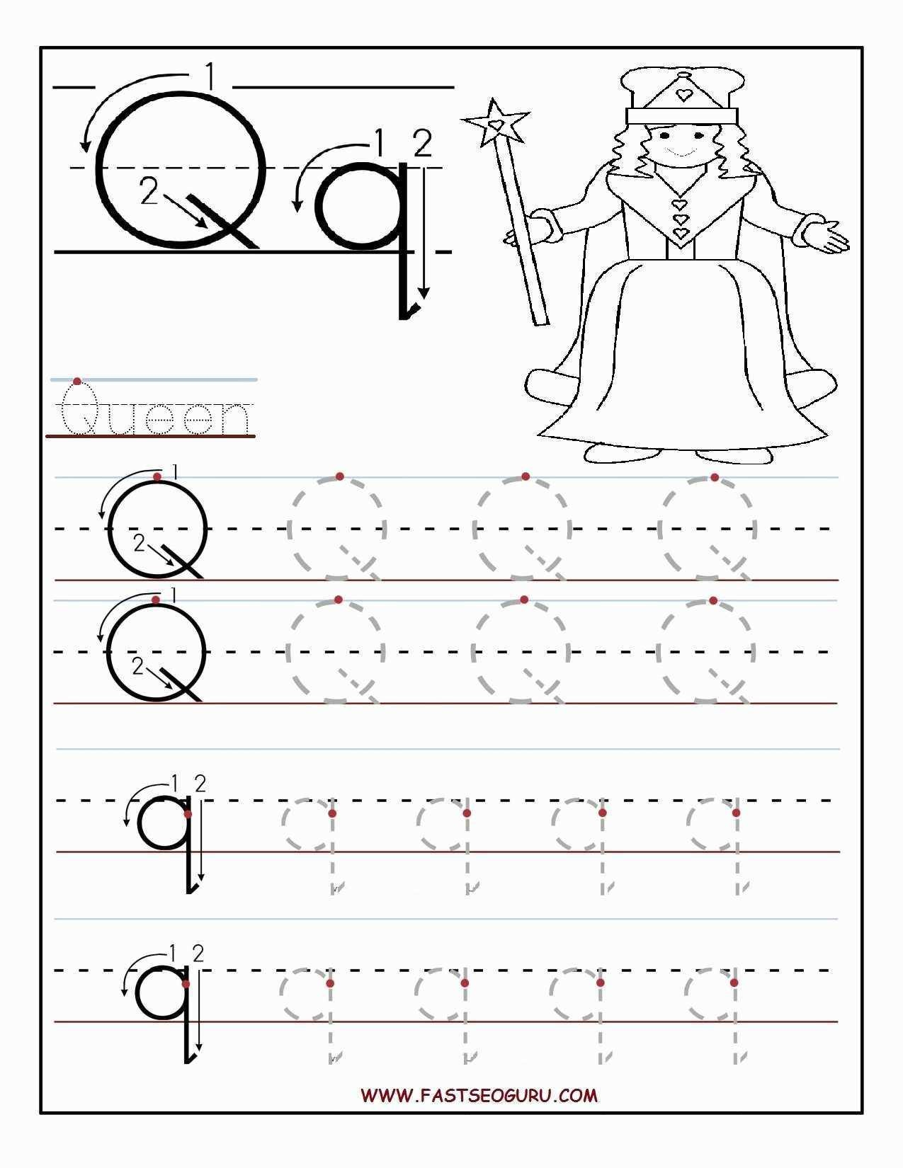 Alphabet Tracing Worksheets For 3 Year Olds – Letter Worksheets [ 1650 x 1275 Pixel ]