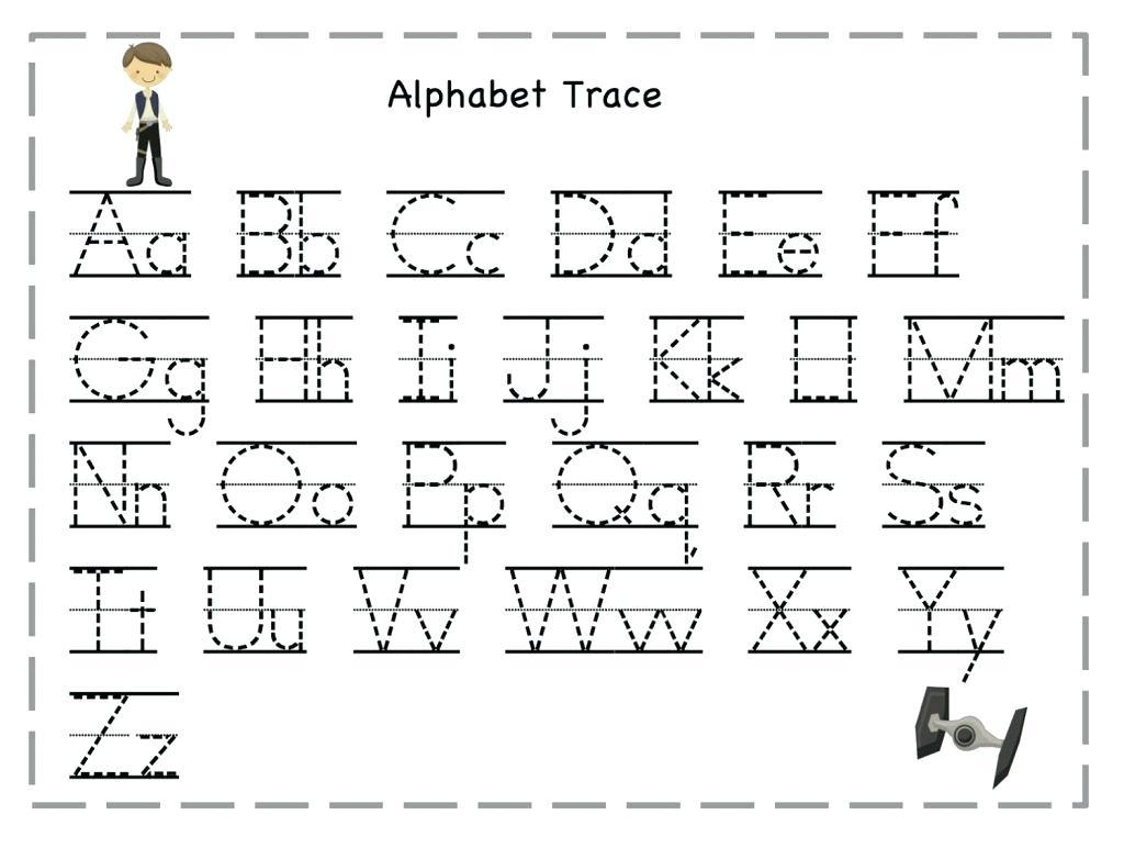Traceable Handwriting Worksheets For Preschool Letter