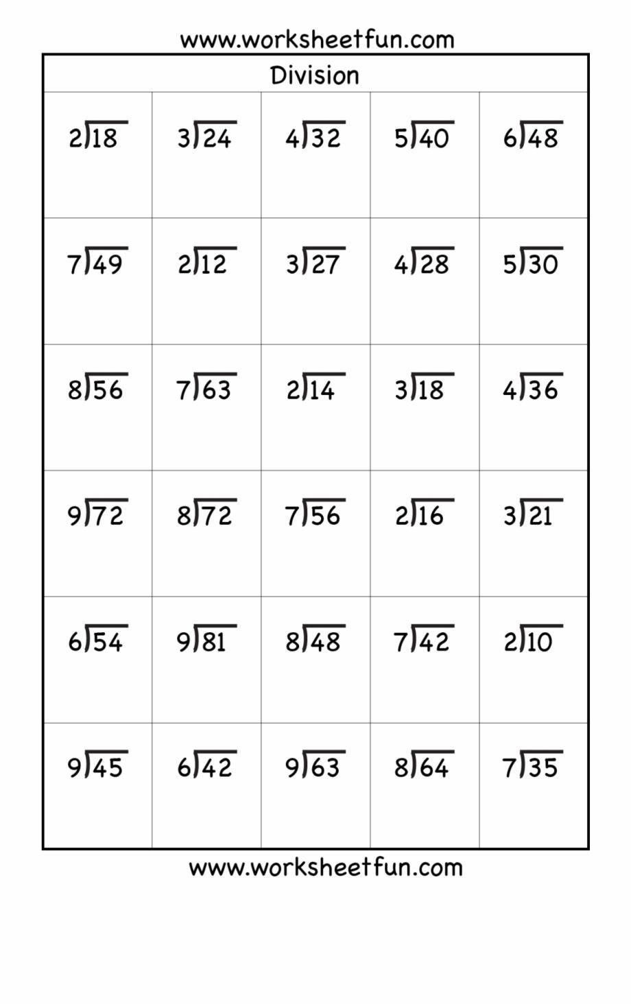 medium resolution of Free Printable Division Worksheets Grade 4 – Letter Worksheets