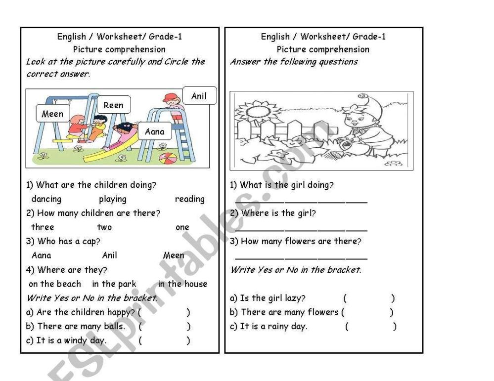 medium resolution of Free Printable English Grammar Worksheets Grade 3 – Letter Worksheets