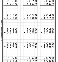 Free Printable Math Worksheets Regrouping Subtraction – Letter Worksheets [ 1950 x 1406 Pixel ]