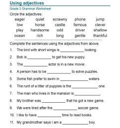 Printable Worksheets Of English Grammar – Letter Worksheets [ 1024 x 768 Pixel ]