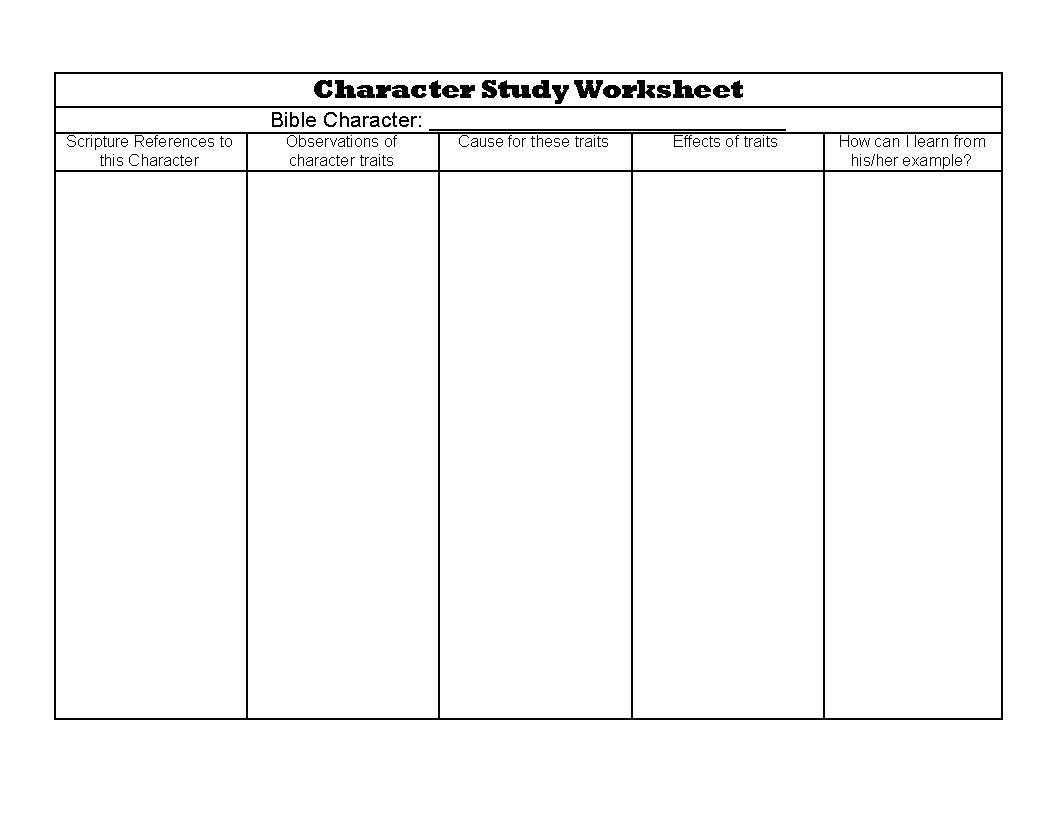 Printable Bible Study Worksheets For Youth Letter Worksheets