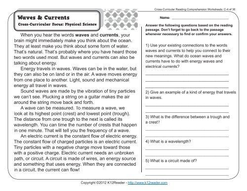 Printable Comprehension Worksheets For Grade 3 – Letter Worksheets