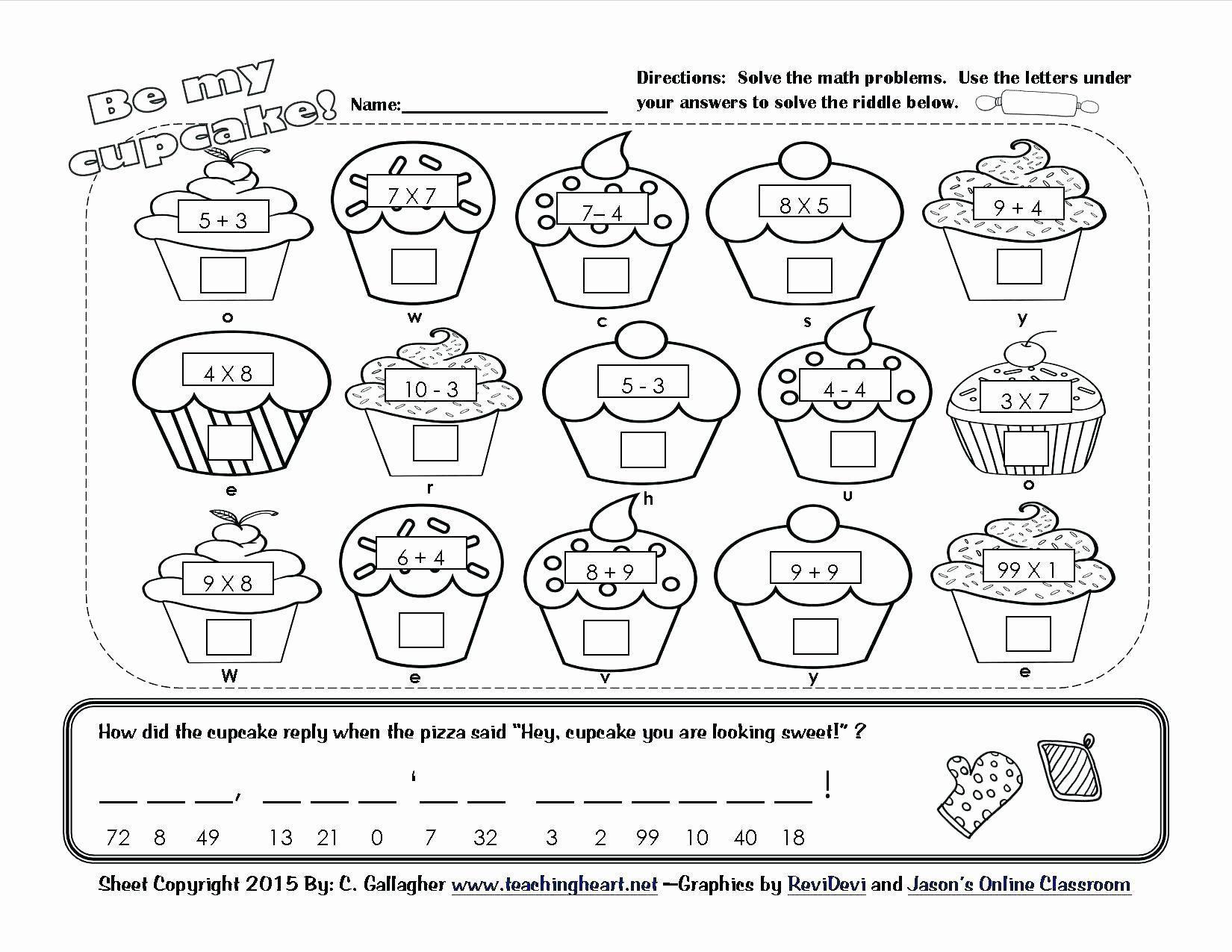 Printable Math Coloring Worksheets 2nd Grade – Letter Worksheets [ 1275 x 1650 Pixel ]