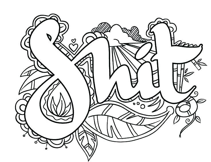 Free Printable Coloring Pages For Adults Easy – Letter Worksheets