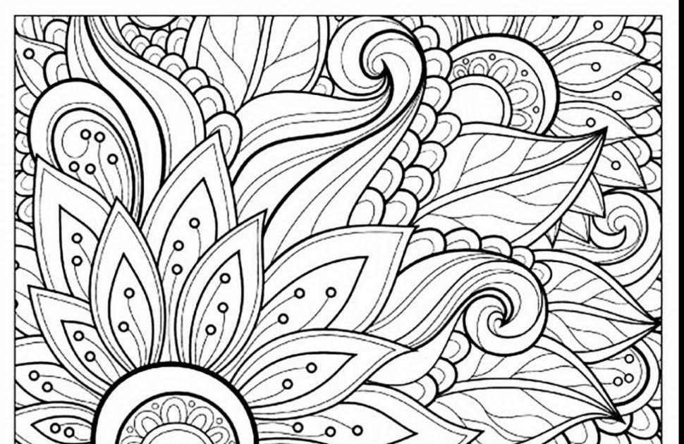 Printable Coloring Pages For Middle School – Letter Worksheets