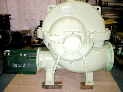 A image of 公共大型ポンプ整備