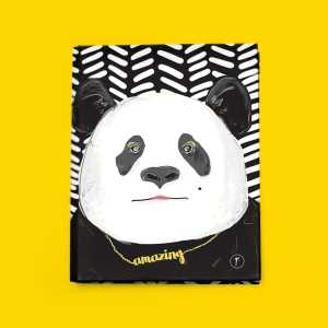 any year planner binder panda front