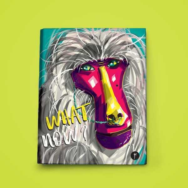 any year planner binder baboon front