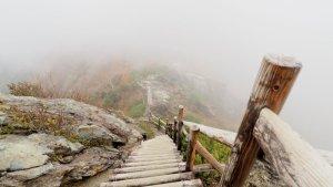 北岳 階段