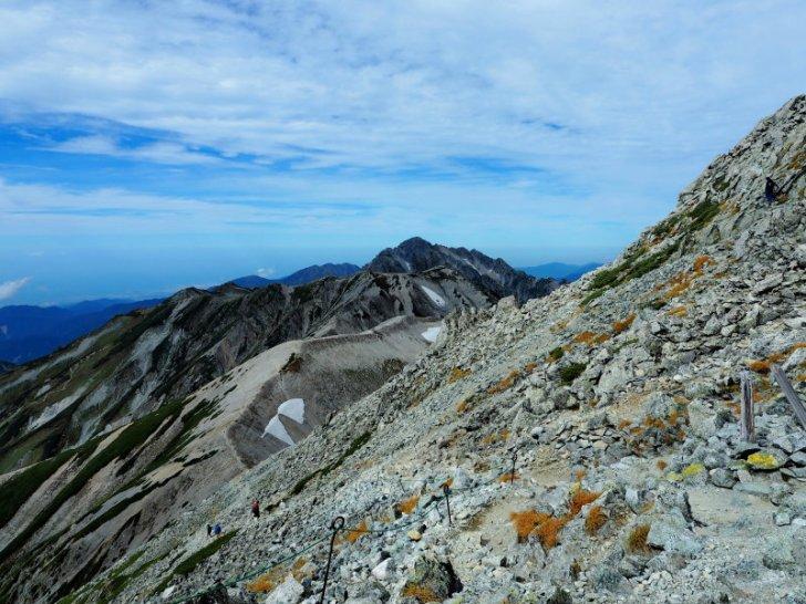 立山から剣岳