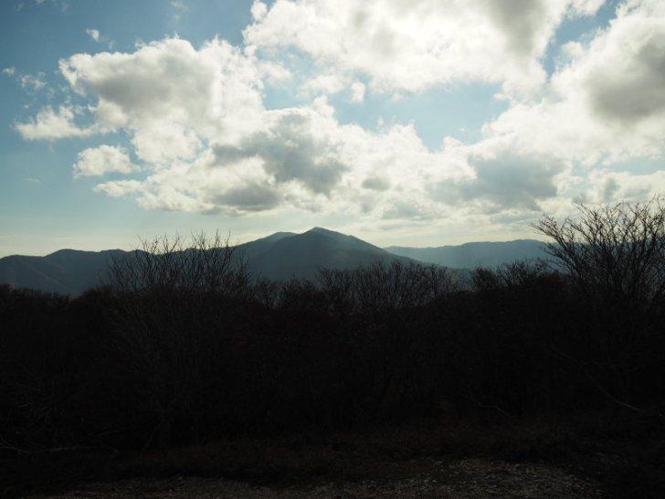 蛇谷ヶ峰から武奈ヶ岳