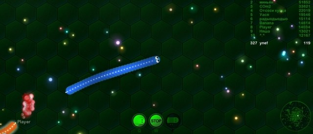 Wormax IO Gameplay Screenshot Ynef.Net Review