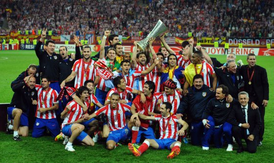 Will the stadium bring luck?  Atletico is celebrating in 2012