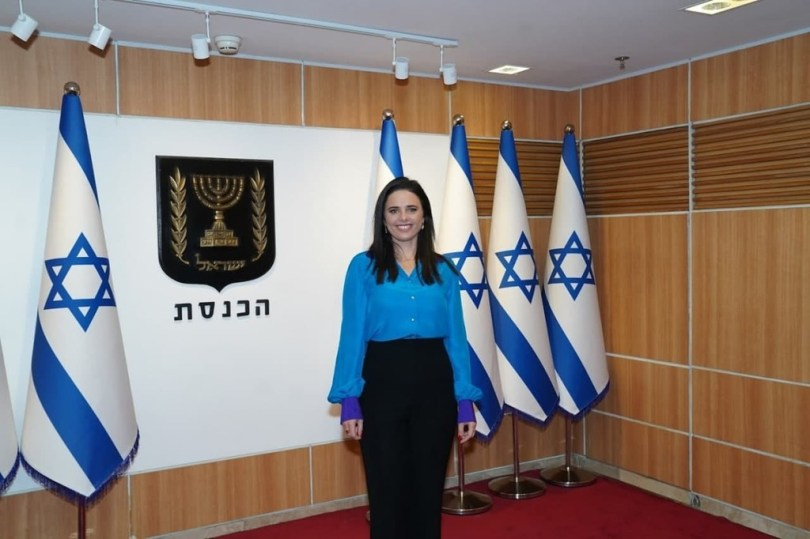 Ayelet Shaked à droite