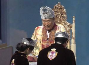 文鮮明先生と文亨進牧師-妍雅祝司長ご夫妻-300x222