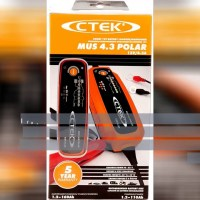 CTEK (56-958) MUS 4.3 POLAR 12 Volt Fully Automatic Extreme Climate 8 Step Battery Charger