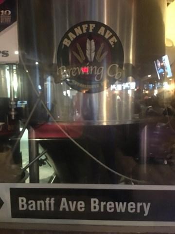 Banff Brewery, Banff