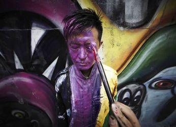 O homem invisível Liu Bolin