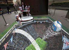 arte em 3d (campo de futebol)