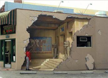 pinturas tridimensionais