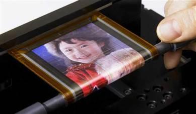 OLED Tela flexível sony