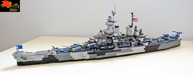 navio de lego