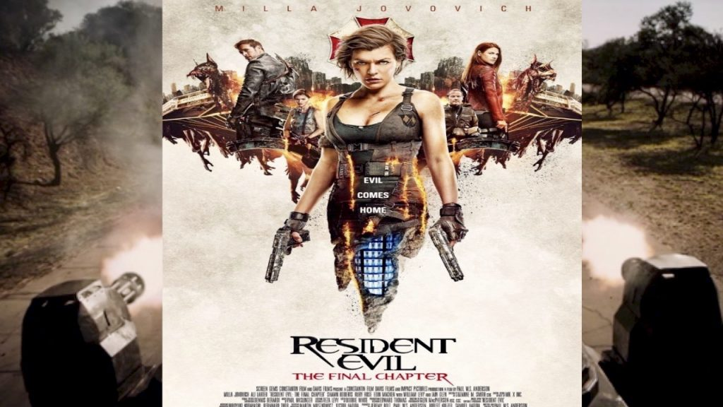 Resident Evil: The Final Chapter trailer - Feb 3 - tough lady