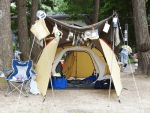 キャンプ用品と収納!コンテナケースを活用して効率よく