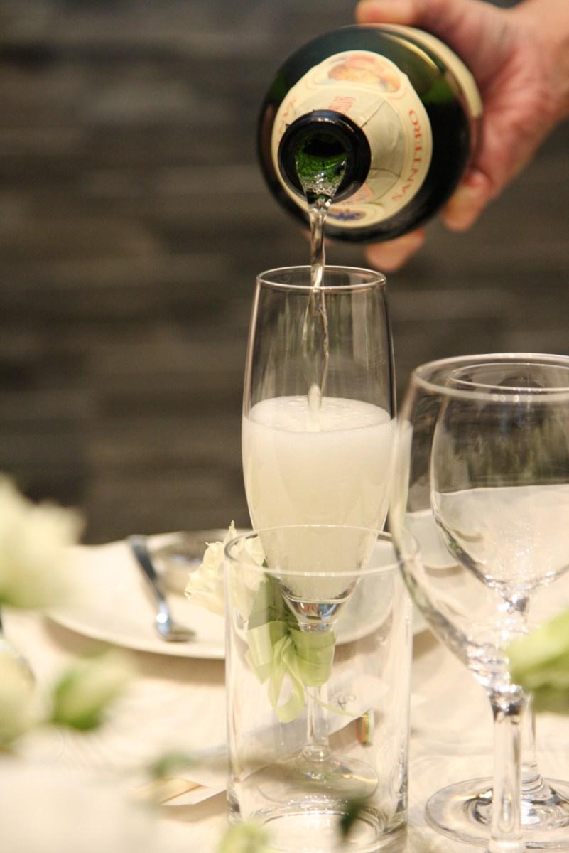 結婚式の乾杯の挨拶を兄弟がする時の流れや例文