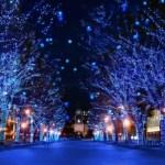 青の洞窟(札幌)はいつからいつまで?期間や点灯時間と混雑が気になる!
