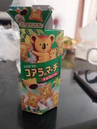 Koalas en chocolat
