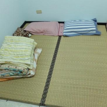 """Notre """"lit"""" / tatamis japonais"""