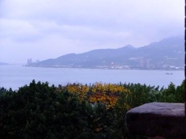 La vue depuis le fort