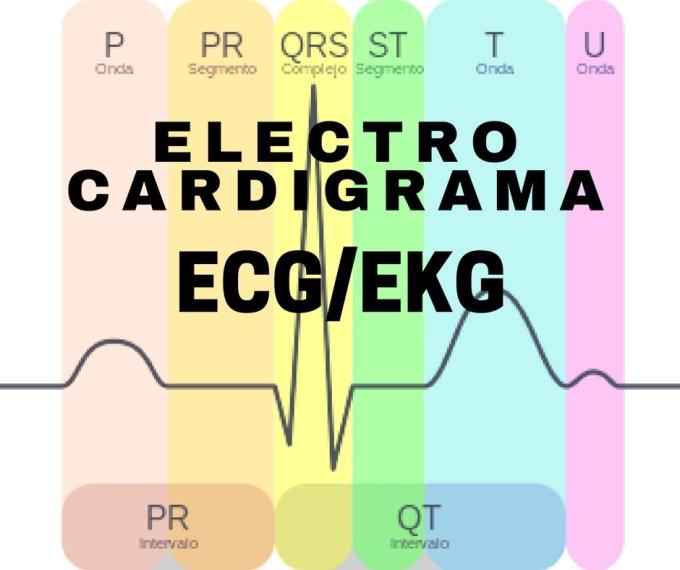 El electrocardiograma ECG/EKG es una prueba que registra la actividad eléctrica del corazón que se produce en cada latido cardíaco.