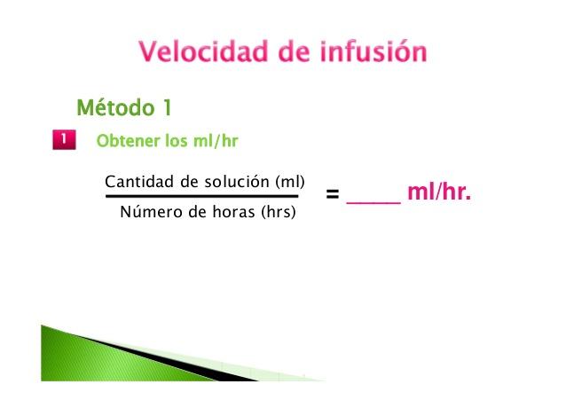 Cálculo de infusión1