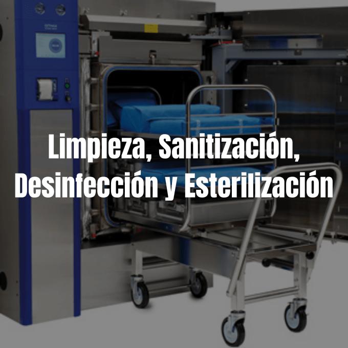 La limpieza, la sanitización y la desinfección constituyen, junto con la esterilización, los procesos más eficaces para romper la cadena epidemiológica de la infección y prevenir las Infecciones Asociadas a la Atención en Salud (IAAS)
