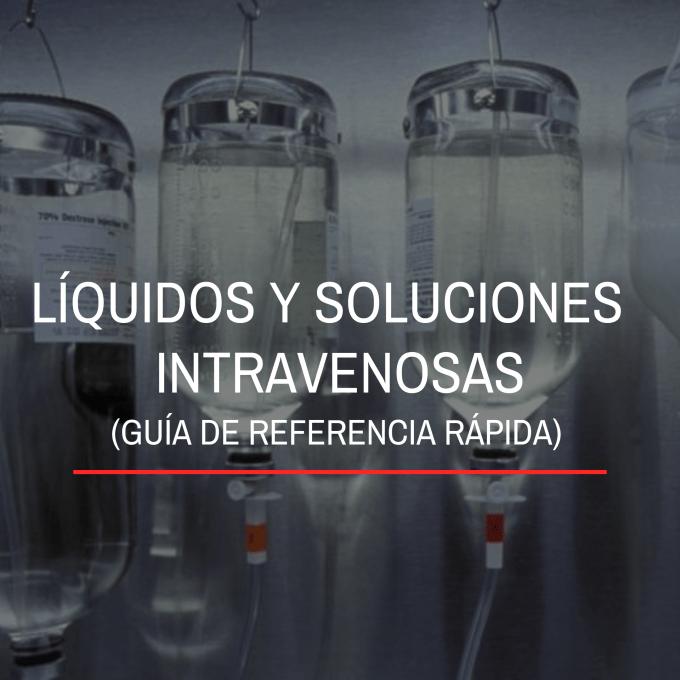 Las soluciones intravenosas se utilizan en la terapia de reemplazo de líquidos al cambiar la composición del suero agregando líquidos y electrolitos