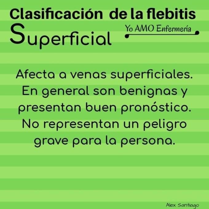 flebitis superficial