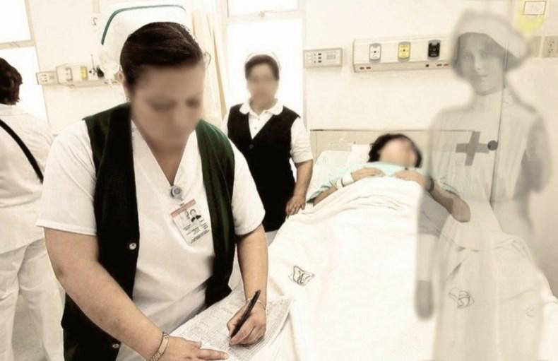enfermera fantasma