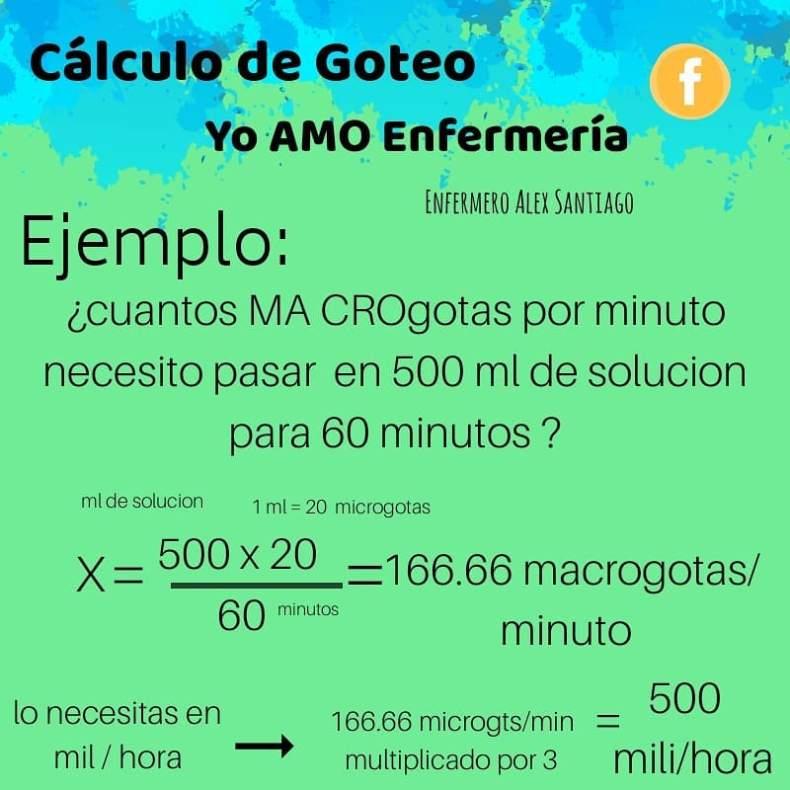 ejercicio calculo de goteo 2