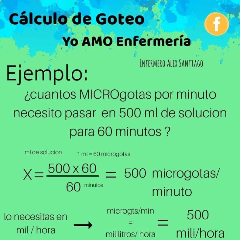 ejercicio calculo de goteo 3