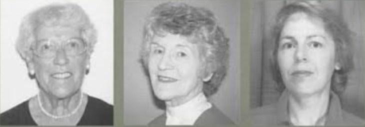 Nancy Roper, Winifred Logan y Alison J. Tierney