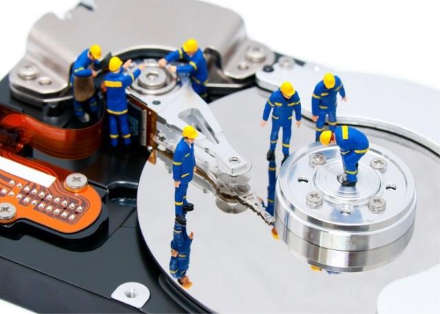 Reparar disco duro