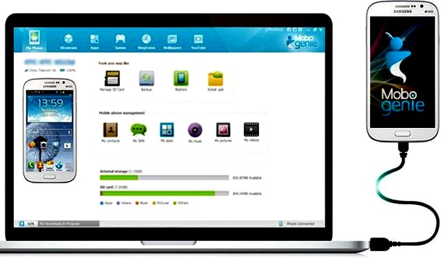 Mobogenie pc suite universal