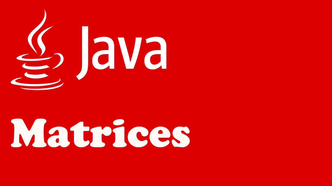 matrices en java