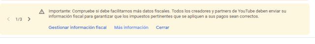 informacion fiscal de google adsense