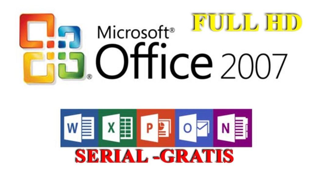 descargar microsoft office 2007 gratis serial